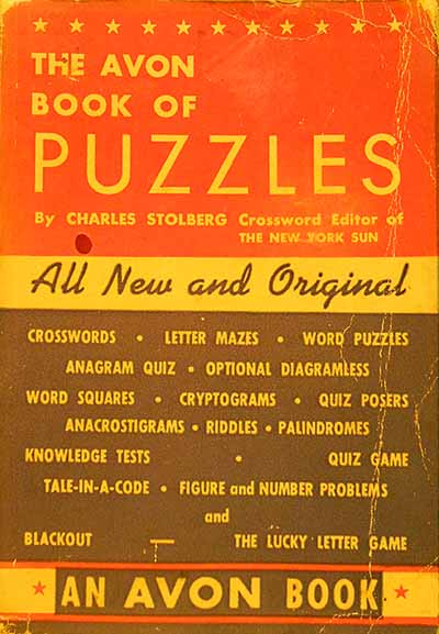 Image for AVON BOOK OF PUZZLES