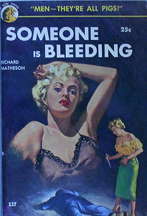 Image for SOMEONE IS BLEEDING